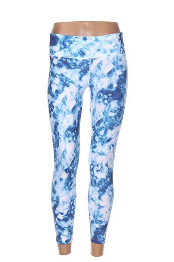 seafolly pantalons femme de couleur bleu