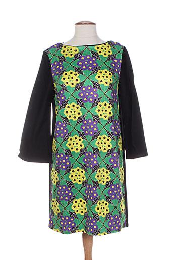Robe courte noir DOROTHEE OSSART pour femme