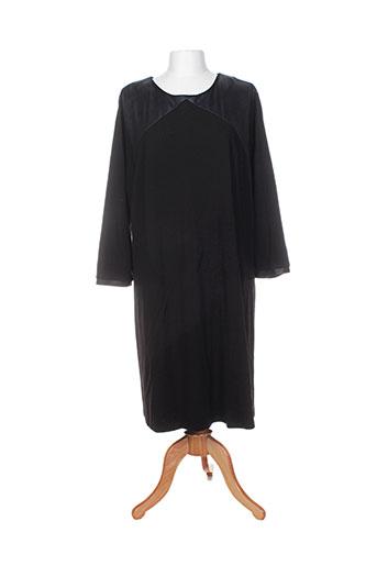 mila cento robes femme de couleur noir