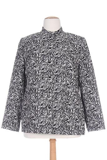 francoise de france vestes femme de couleur gris
