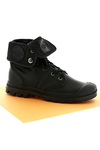palladium chaussures unisexe de couleur noir