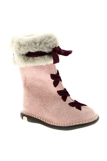 solaria chaussures fille de couleur rose