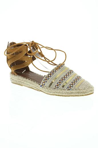 chic nana chaussures femme de couleur beige