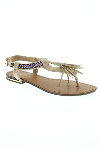 divine chaussures femme de couleur beige