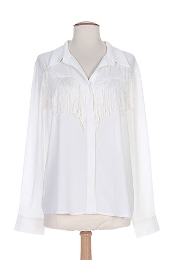 diego reiga chemises femme de couleur beige