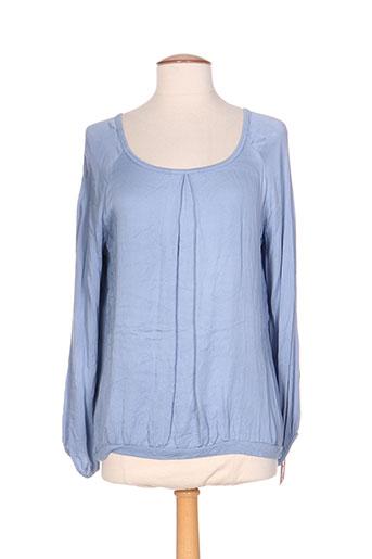 talia benson chemises femme de couleur bleu