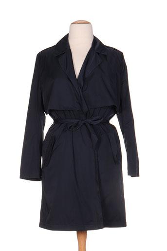areline manteaux femme de couleur bleu