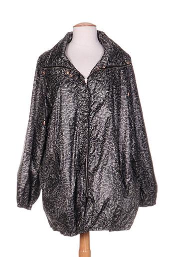 areline manteaux femme de couleur noir