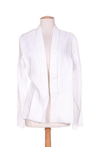 maloka vestes femme de couleur blanc