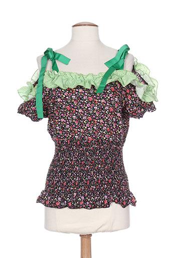 zoe la fee chemises femme de couleur vert