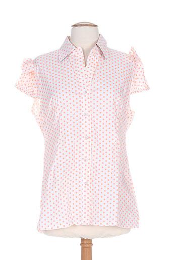 zoe la fee chemises femme de couleur orange