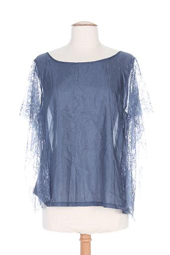 zoe la fee chemises femme de couleur bleu