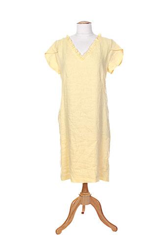 femmes je vous aime robes femme de couleur jaune
