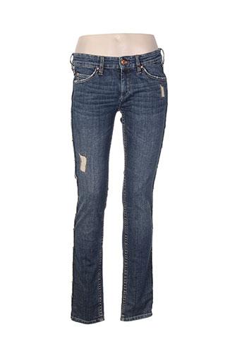 isabel marant jeans femme de couleur bleu