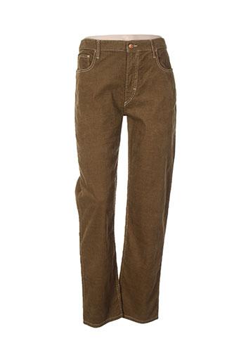 isabel marant pantalons femme de couleur marron