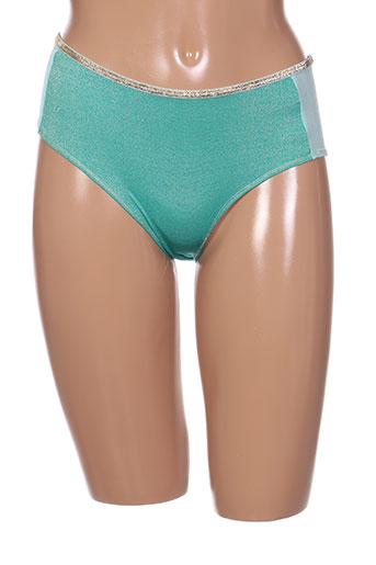 la nouvelle lingerie femme de couleur vert