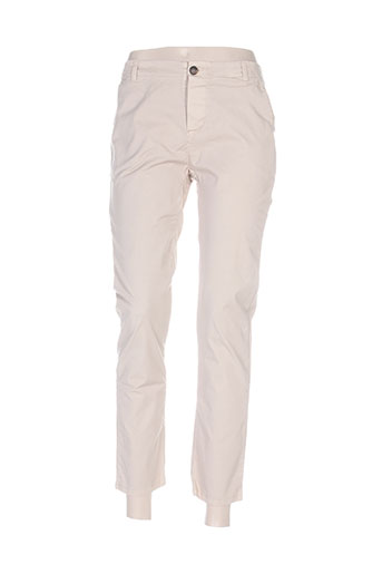 la fee maraboutee pantalons femme de couleur beige