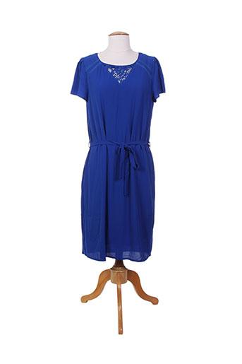 akoz de toi robes femme de couleur bleu