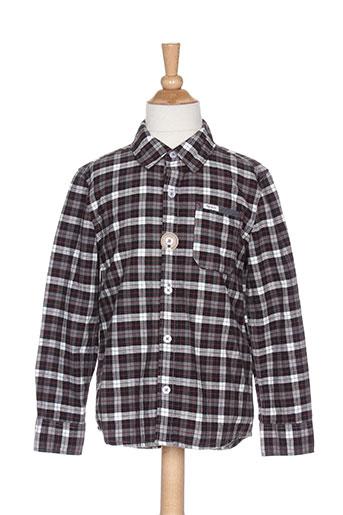 pepe jeans chemises garçon de couleur gris