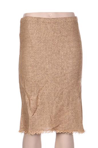 dikton's jupes femme de couleur beige