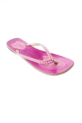 ba&sh chaussures femme de couleur rose