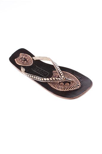 ba&sh chaussures femme de couleur noir