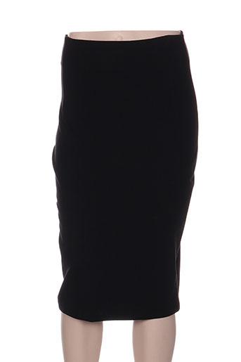 crazy wool jupes femme de couleur noir