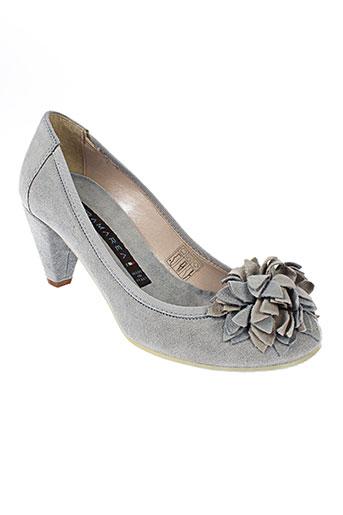 altramarea chaussures femme de couleur gris