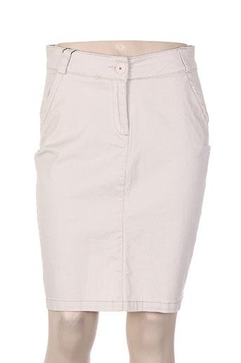 thalassa jupes femme de couleur beige