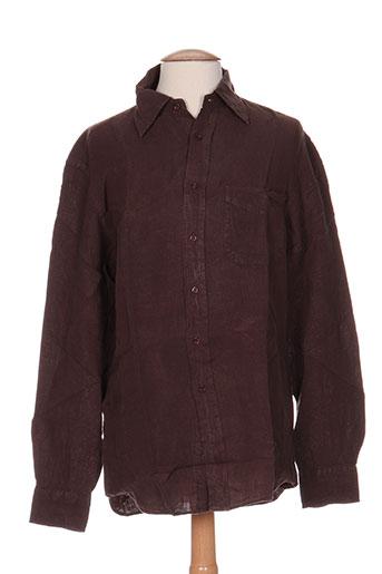 arthur chemises homme de couleur marron