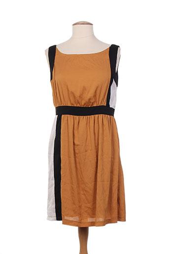 sweewë robes femme de couleur marron