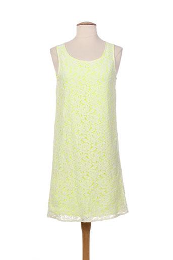 Robe courte jaune VILA pour femme