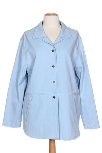 bruno saint hilaire vestes femme de couleur bleu