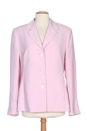 Veste casual rose LUCIA pour femme