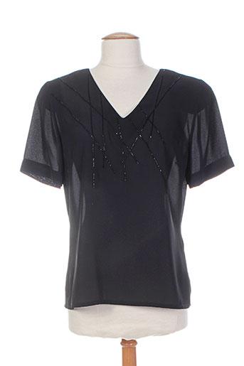 b de brel chemises femme de couleur noir