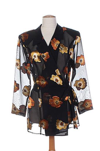 guitard chemises femme de couleur noir