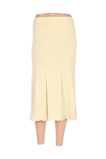 lucia jupes femme de couleur jaune