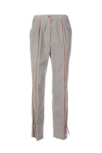 Pantalon casual gris CHARLES GUITARD pour femme