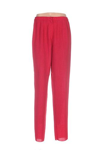 guitard pantalons femme de couleur rouge