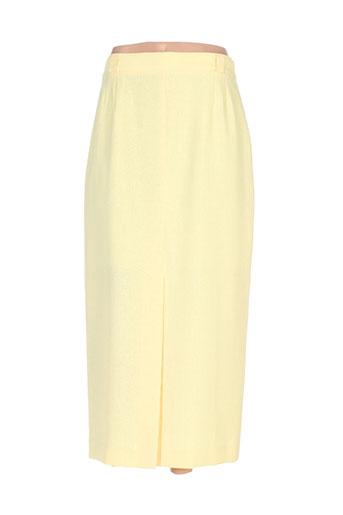 markwald jupes femme de couleur jaune