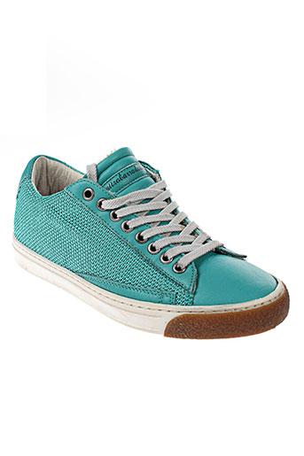 quattrobarradodici baskets femme de couleur vert