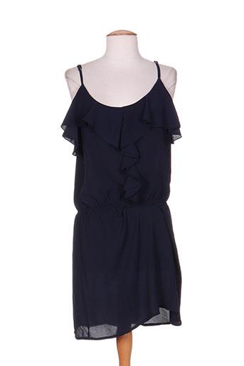 purple's by sh robes femme de couleur bleu