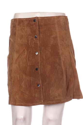 only jupes femme de couleur marron