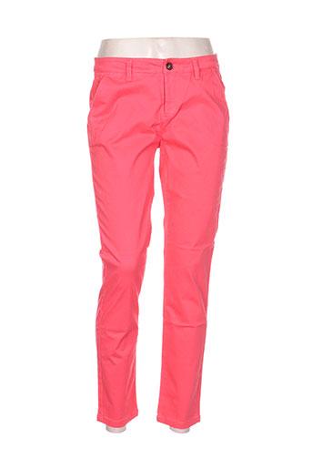 only pantalons femme de couleur rouge