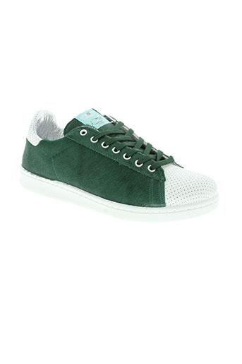 ippon vintage chaussures femme de couleur vert