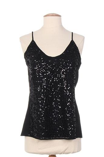 black mojito chemises femme de couleur noir