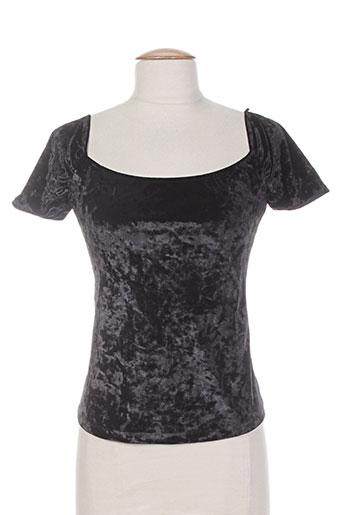 voriagh chemises femme de couleur noir
