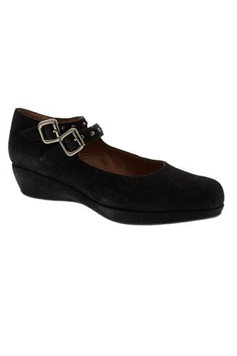 accessoire détente chaussures femme de couleur noir
