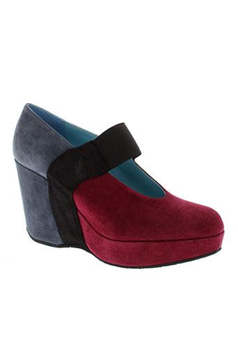 thierry rabotin chaussures femme de couleur rose