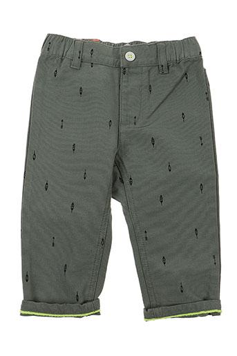 billybandit pantalons garçon de couleur vert